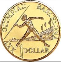 1992-Australia-One-Dollar-coin