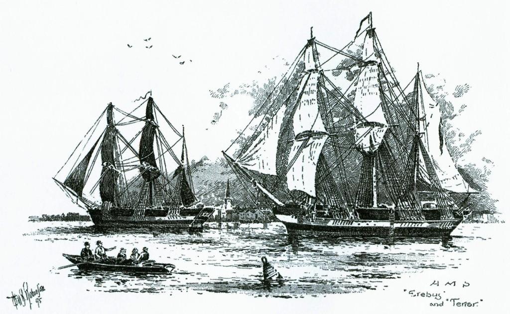 John-Franklin-Expedition-1845-Nordwestpassage-Erebus-and-Terror