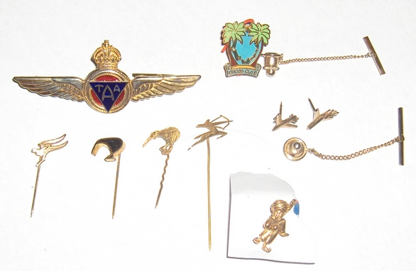 Mixed-Lapel -Pins-From Airlines