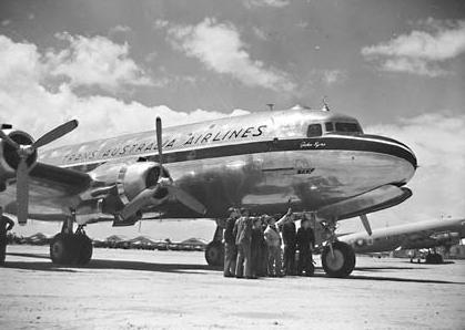 Trans-Australia- Airlines - DC4-Skymaster-John Eyre