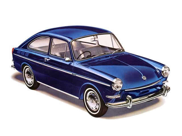 A Type 3 Volkswagen similar to my mothers.