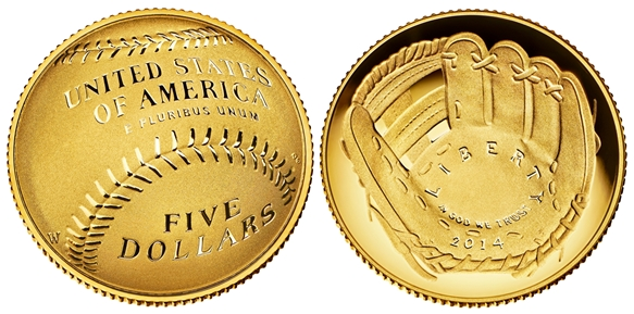 2014-United-States-Mint-Five-Dollars-gold-domed-coin