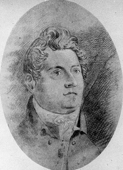 An early portrait sketch of Greenway