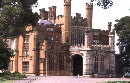 Government House at Bennelong in Sydney designed by Greenway.