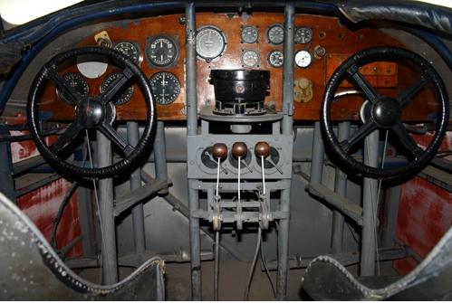 Cockpit Of Southern Cross