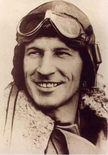 Early portrait of aviation legend Kingsford Smith