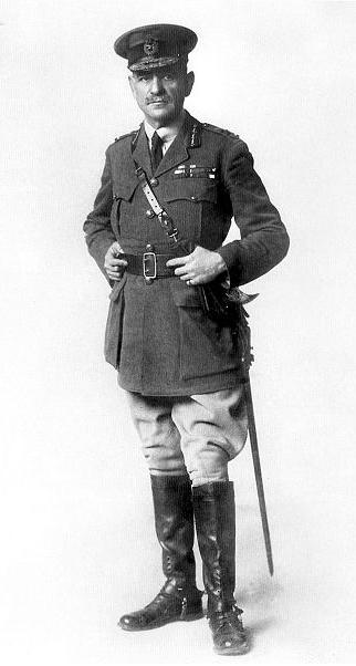 Lieutenant General Sir John Monash, commander of the Australian Corps