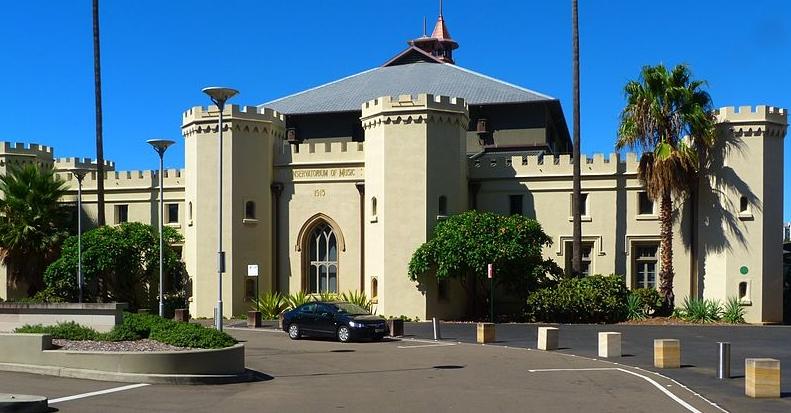 Sydney's Conservatorium of Music designed by Greenway