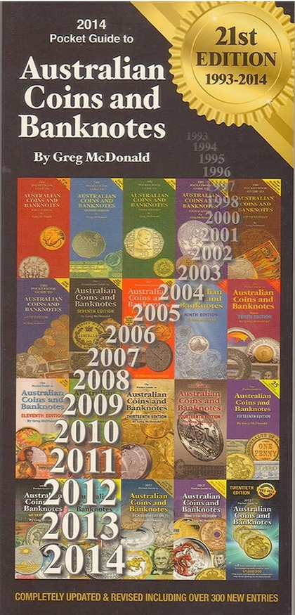 The McDonald Coin and Banknotepocket book is indispensable as a market  guide.