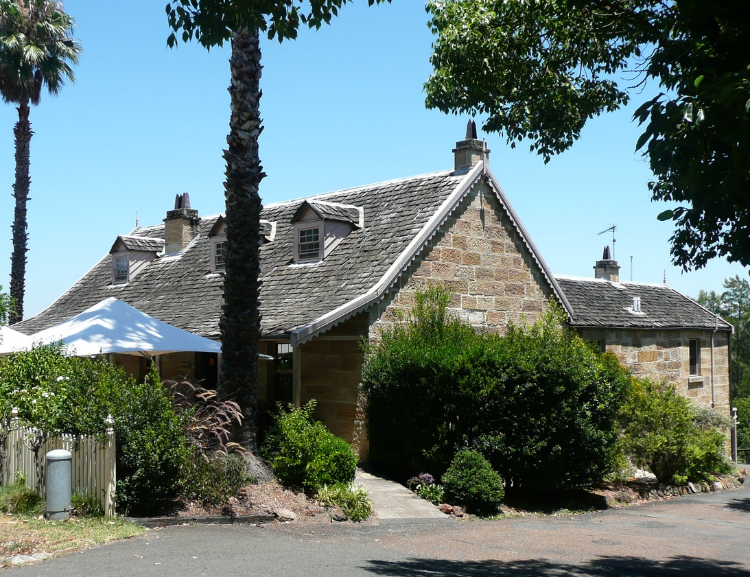 The cottage where Banjo paterson lived during the 1870s and 1880s