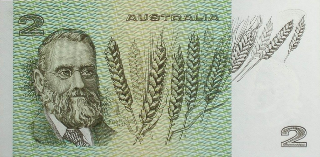 Farrer on the Two Dollar note
