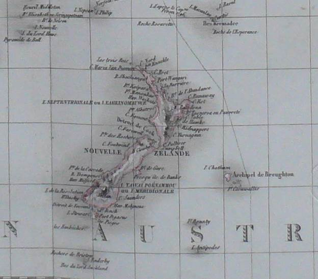 1829 Antique Map of Oceania - Australia - Polynesia