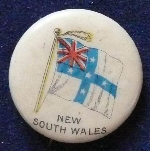 1896 Australia - New South Wales Flag Pin