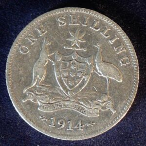 1914 Australia One Shilling - King George V