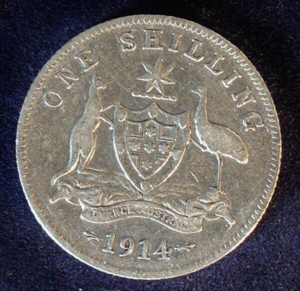 1914 Australia One Shilling - King George V