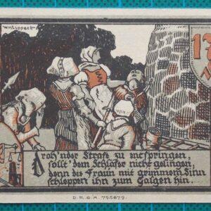 1921 GRANSEE EMERGENCY MONEY NOTGELD 175 PFENNIG