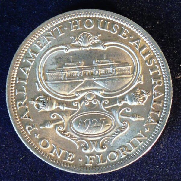 1927 Australia Commemorative Florin - King George V