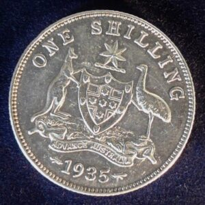 1935 Australia One Shilling - King George V