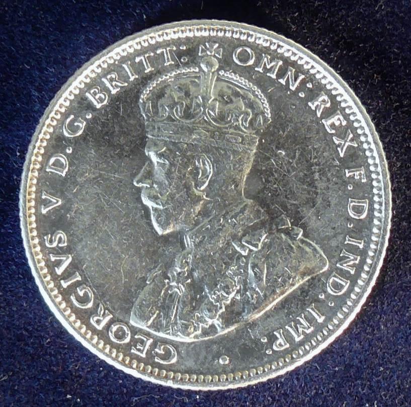 1935 Australia One Shilling - King George V