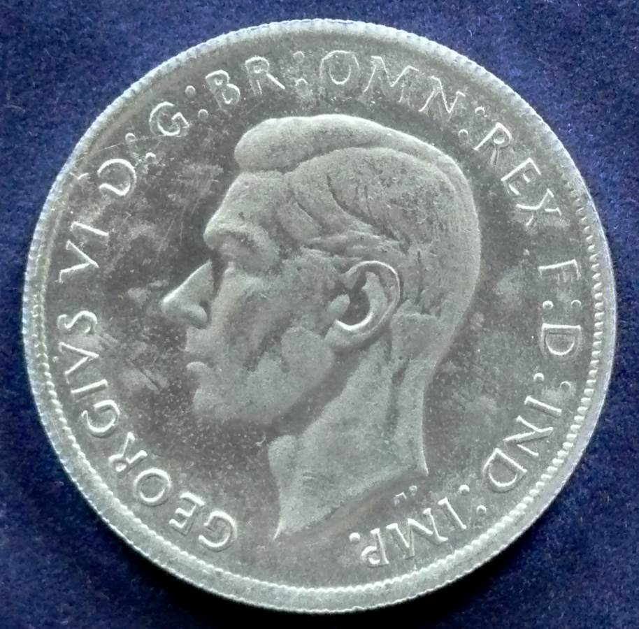 1937 Australia One Crown - King George VI - C