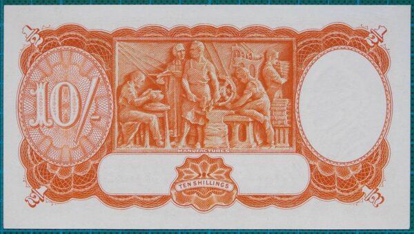 1939 Australia Ten Shillings - E98 84
