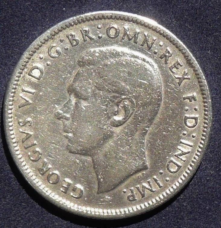 1940 Australia Florin - King George V
