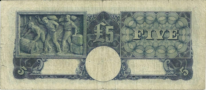 1941 Australia Five Pounds - R 70