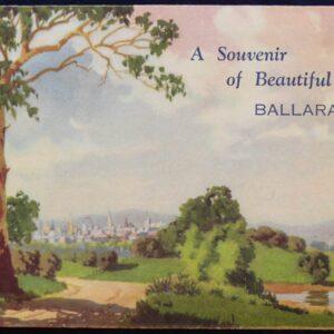 1950s Australia - Souvenir Postcard of Ballarat