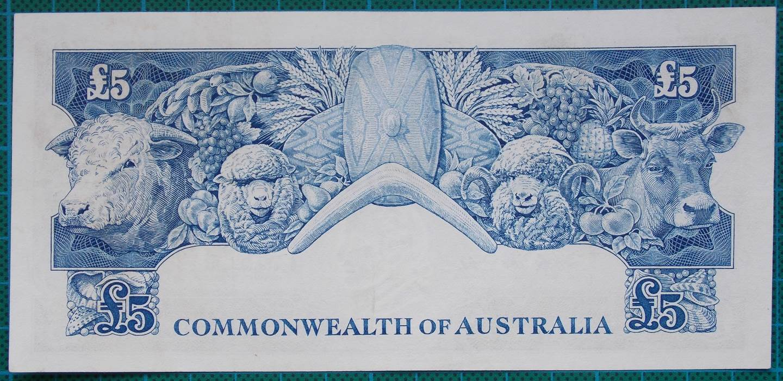 1960 Australia Five Pounds - TC 41