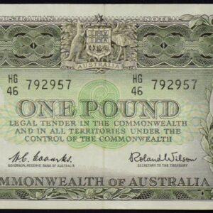 1961 Australia One Pound - HG46