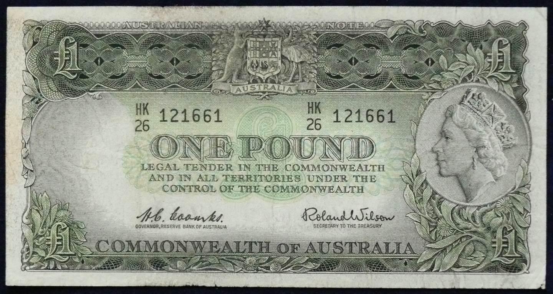 1961 Australia One Pound - HK26
