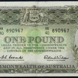 1961 Australia One Pound - HK40
