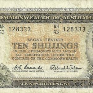 1961 Australia Ten Shillings - AH43