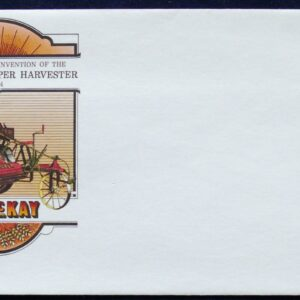 1964 Australia Post FDC - Centenary Of the Harvester