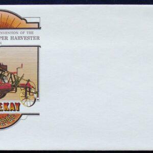 1964 Australia Post FDC - Centenary Of the Harvester
