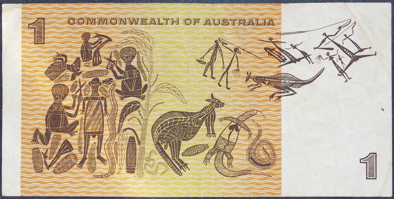 1966 Australia One Dollar Note - ADU