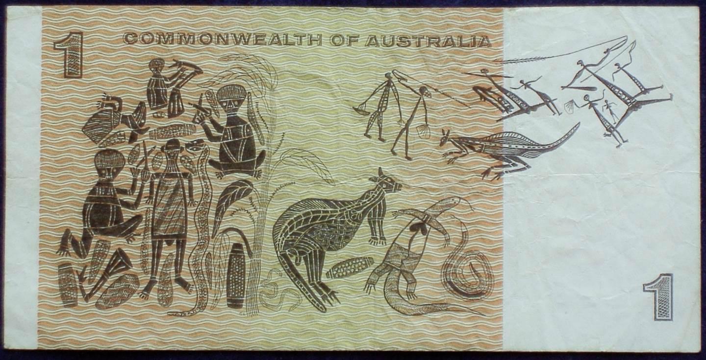 1966 Australia One Dollar Note - AFS