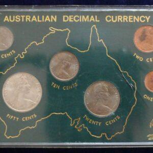 1966 Australia RAM Uncirculated Coin Set