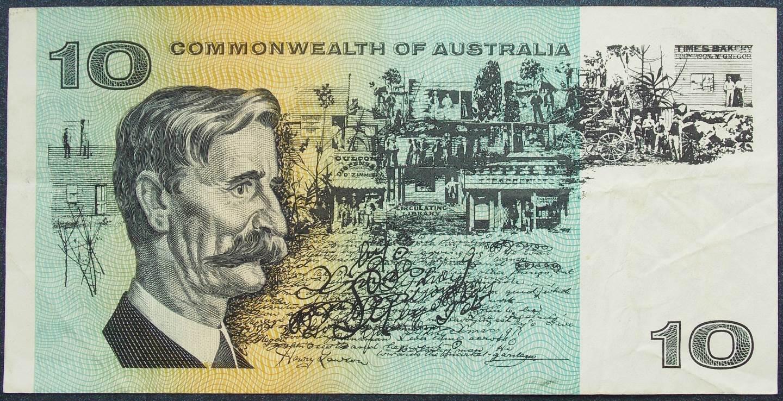 1966 Australia Ten Dollars - SAD