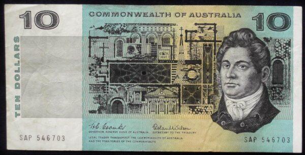 1966 Australia Ten Dollars - SAP