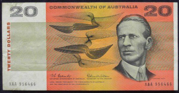 1966 Australia Twenty Dollars Paper - XAA
