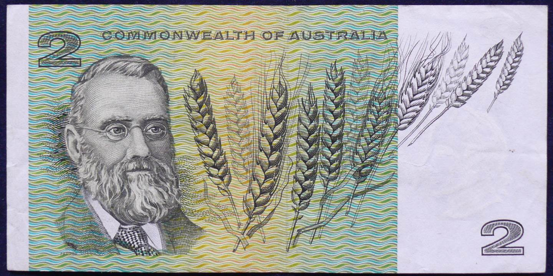 1966 Australia Two Dollars - FBA
