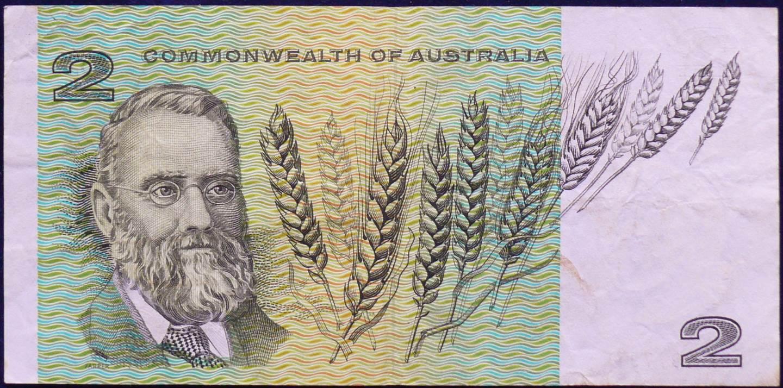 1966 Australia Two Dollars - FEX - Radar