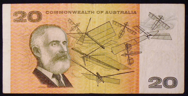 1968 Australia Twenty Dollars Paper - XBT