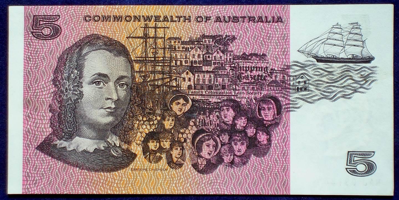 1969 Australia Five Dollars - Coombs Randall - NAJ