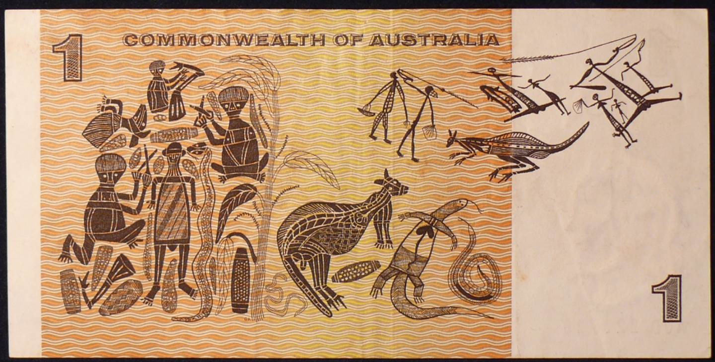 1969 Australia One Dollar Note - AJD