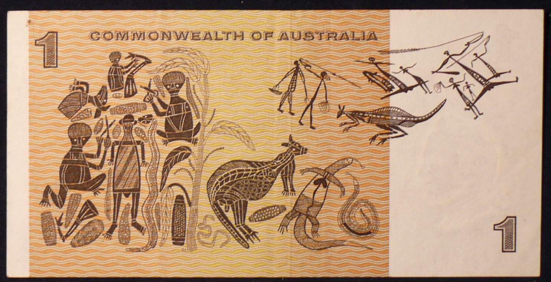 1969 Australia One Dollar Note - AJN