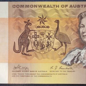 1969 Australia One Dollar Note - ARJ