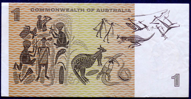 1969 Australia One Dollar Note - ARJ
