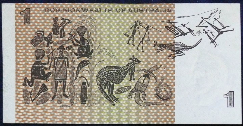 1969 Australia One Dollar Note - BAD